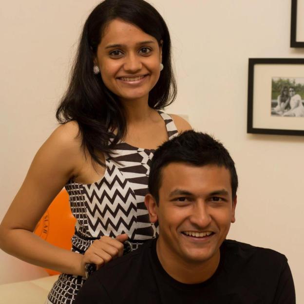 Ritu and Akshay