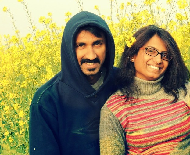 Chaitra and Sunish