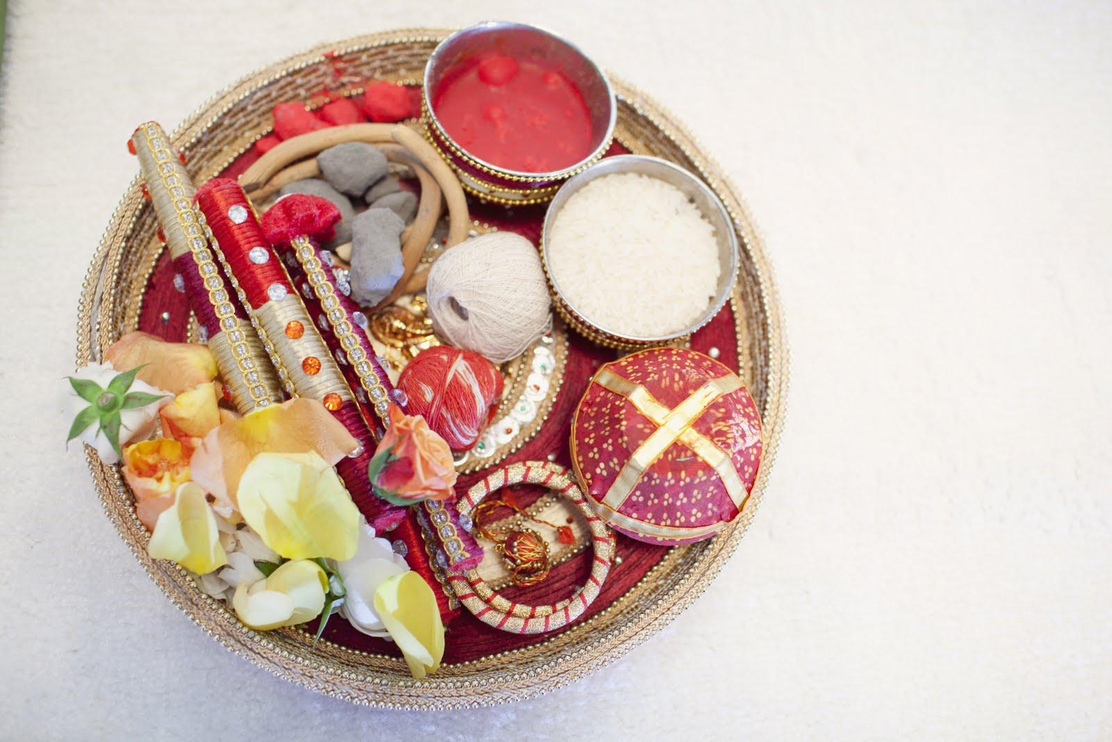 07 Hindu Wedding Ceremony Items Samagri