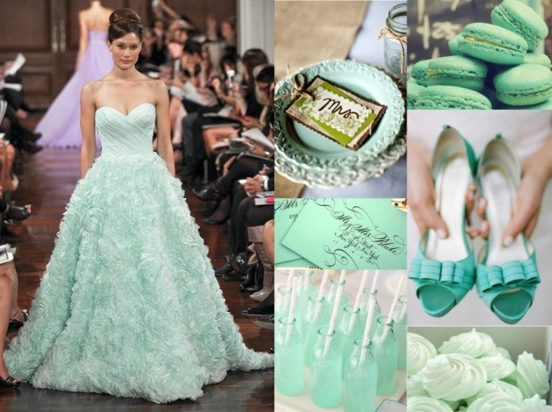 The Top 3 Wedding Colors