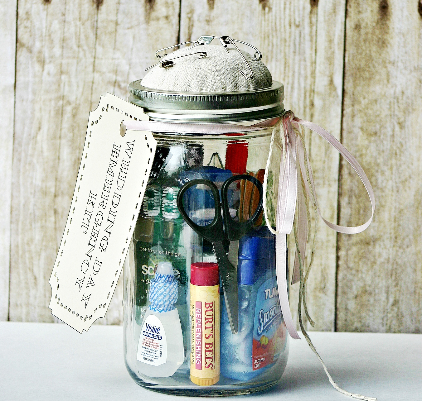 The Wedding Day Survival Kit