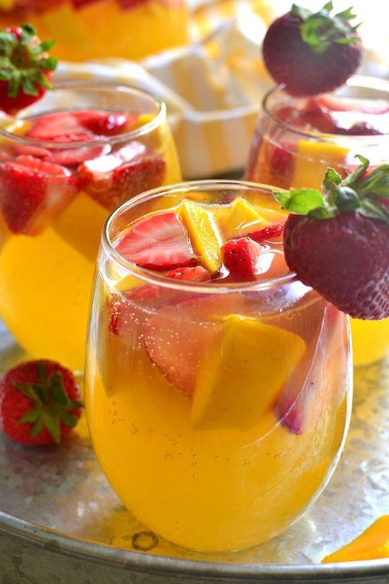 Strawberry Mango Sangria